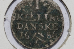 1 Skilling 1686
