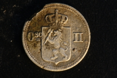 10 Øre/10 Skilling 1875.
