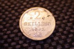 2 skilling 1842