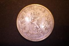 1 krone 1890