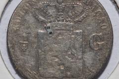 1/4 Gylden Nederland 1900